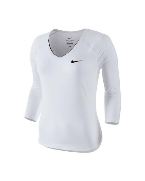 Calidad Blanco Nike Pure Mejor Camiseta Al Mujer Precio Negro Court q7HFw6