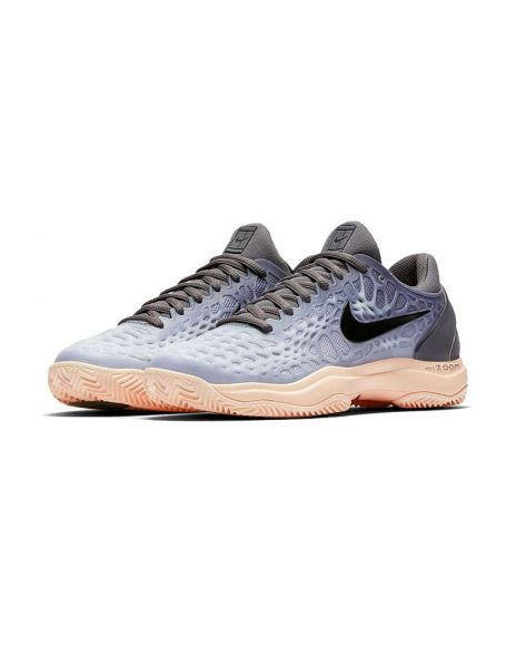 NIKE AIR ZOOM CAGE 3 CLY MUJER GRIS NEGRO N918198 001 1c9225f620501
