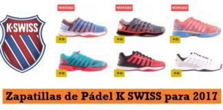 Zapatillas K SWISS Padel 2017