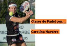 Clases padel Carolina Navarro