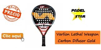 Varlion Lethal Weapon Carbon Difusor Gold