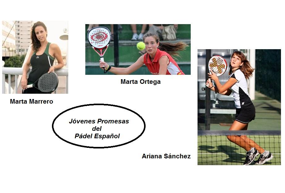 jovenes promesas del padel español femenino