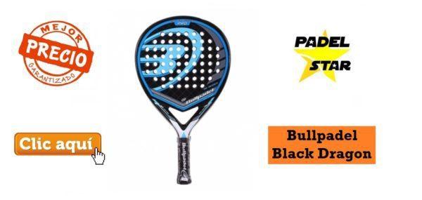 Comprar Pala Bull Padel Black Dragon