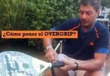 ¿Cómo poner overgrip en pala de pádel?