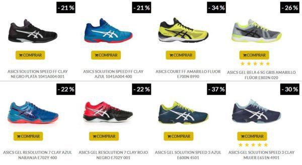 ropa deportiva de alto rendimiento los Angeles imágenes oficiales Zapatillas de pádel ASICS Gel BELA 6 SG – Color Gris   PadelStar