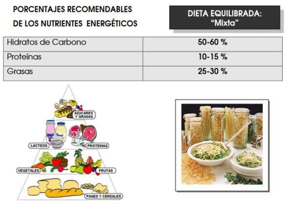 Que Cantidad de Nutrientes comer