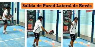 Salida Pared Lateral Reves Padel