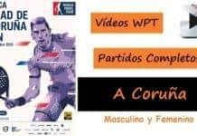 Partidos Completos World Padel Tour A Coruña 2016