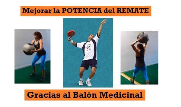 365ed495 Más POTENCIA en REMATE ¡Ejercicios Balón Medicinal! | PadelStar