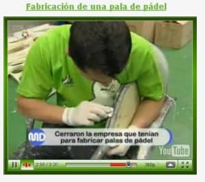 Fabricar Palas Padel