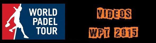 Partidos world padel tour 2015