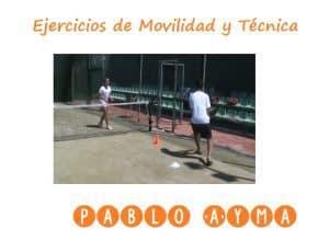 video ejercicios de padel