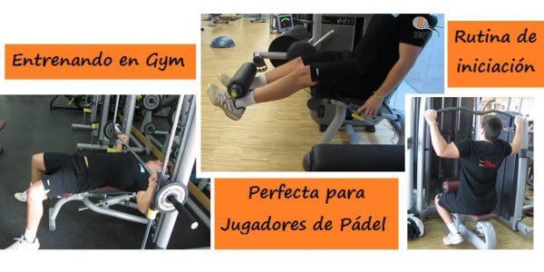 Circuito Gimnasio : Rutina de gimnasio para jugadores de pÁdel vídeo padelstar