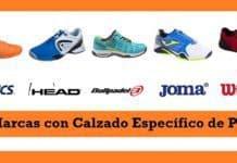 Marcas de Zapatillas de Pádel