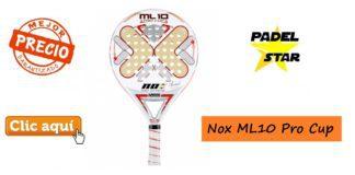 Pala de Pádel Nox ML10 Pro Cup 2016
