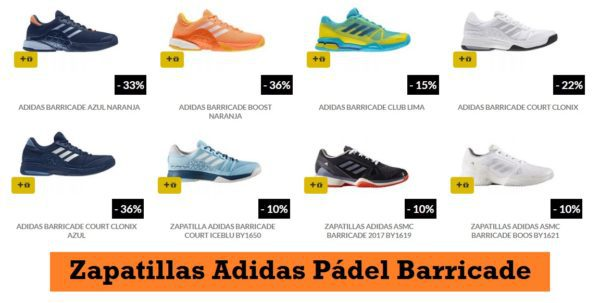 Hombre ADIDAS BARRICADE Zapatillas Pádel Comprar
