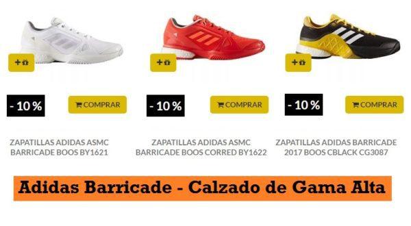 Zapatillas de Pádel ADIDAS BARRICAD