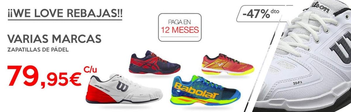 5c9a780d67 Zapatillas de Padel Baratas para Comprar este 2019 | PadelStar