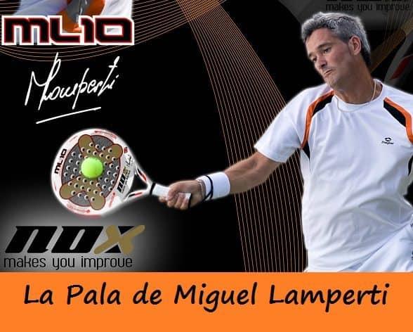 Miguel Lamperti Y Su Pala Nox Ml 10 Pro Cup Padelstar