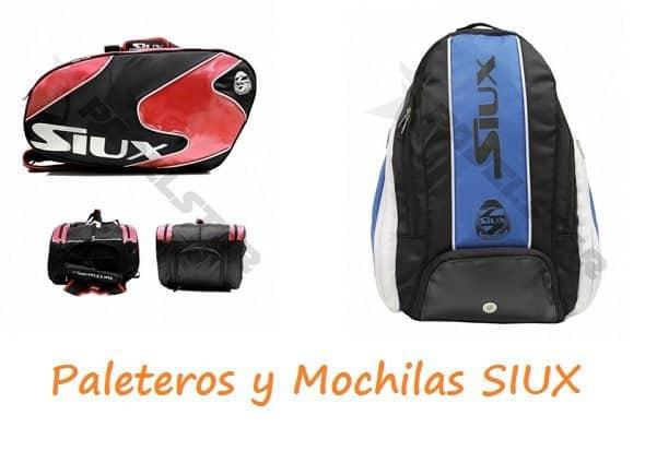 c9894213002 Análisis de los Paleteros y Mochilas Siux 2014 | PadelStar