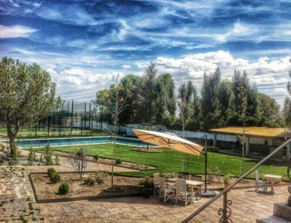 Club el portical p del en guadarrama sierra de madrid for Piscina guadarrama