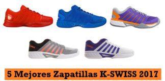 Mejores Zapatillas de Padel K SWISS 2017