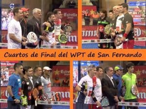 partidos cuartos de final world padel tour cadiz