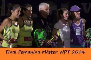 final femenina master world padel tour 2014