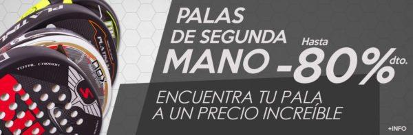 Palas de Pádel de SEGUNDA MANO