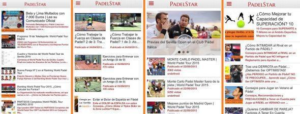 Aplicación de Pádel para Móvil con Consejos, Vídeos de Partidos, Clases de Pádel y Mucho Más.