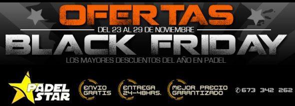 Llega el BLACK FRIDAY de Pádel 2015 ¡Increíbles Ofertas!