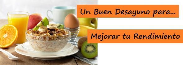 Un Buen Desayuno Ayudará a Mejorar tu Rendimiento en Pádel.