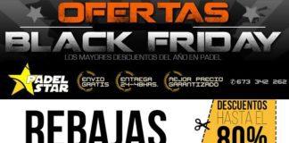 Ofertas del Black Friday en Padel Star