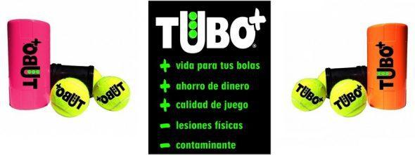 Gracias a TUBOPLUS tus Pelotas de Pádel durarán Más.