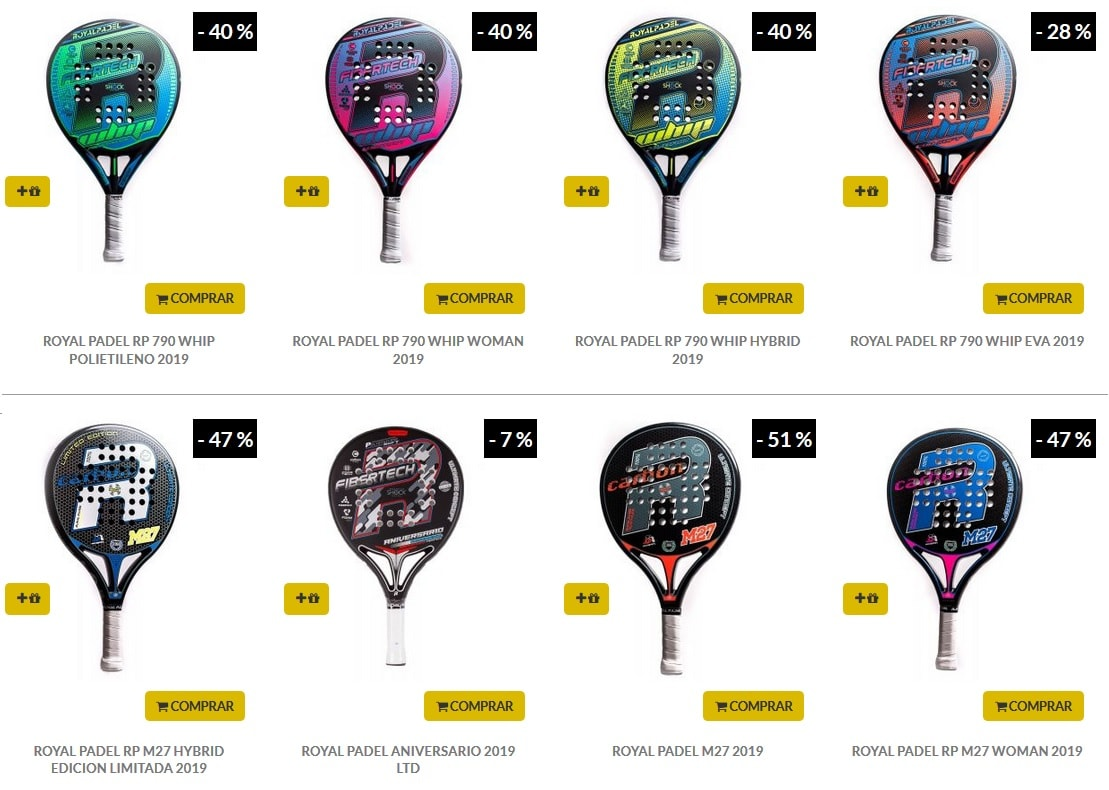 Palas Royal Padel Epicondilitis