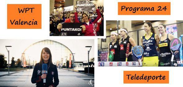 Programa del World Padel Tour de Valencia