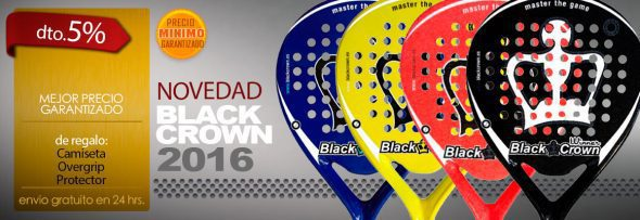 Nuevas Palas BLACK CROWN 2016
