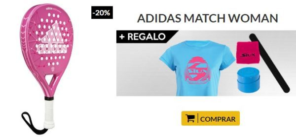 Oferta Pala ADIDAS MATCH WOMAN