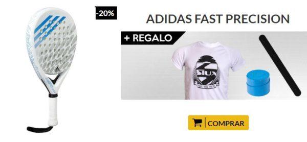 Oferta Pala Adidas Fast Precision Response Azul
