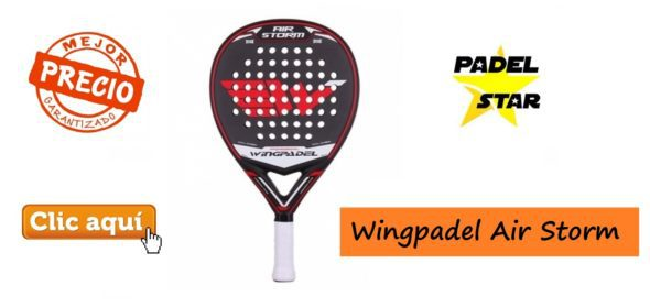 Potente Pala WINGPADEL AIR STORM