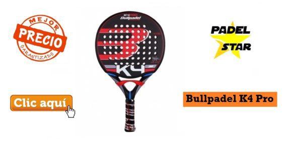 OFERTA Pala Bullpadel K4 Pro