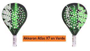 Test AKKERON ATLAS X7 ¡Pala Akkeron en OFERTA!