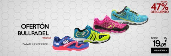 zapatillas para padel más vendidas