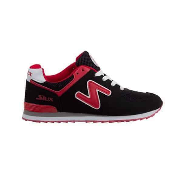Zapatillas Siux Tsunami Negro Rojo