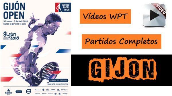 Partidos World Padel Tour Gijón 2016