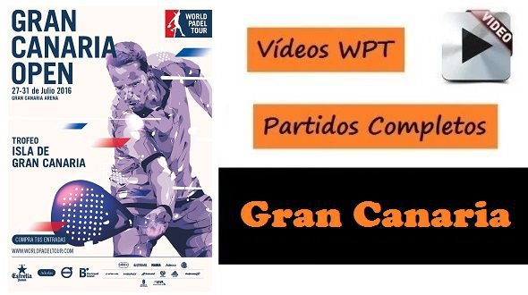 Partidos World Padel Tour Gran Canaria