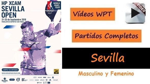 Partidos World Padel Tour Sevilla 2016