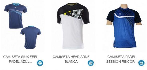 Camisetas de Padel para Verano
