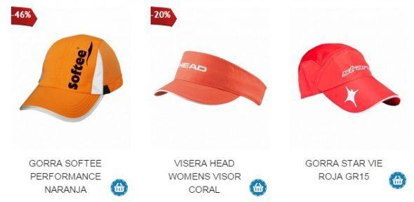 Gorras de Padel para Verano