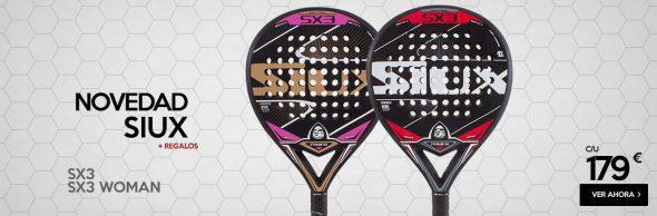 Nuevas Palas de Padel SIUX SX3